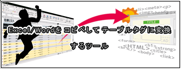 Excel/Wordタグ変換
